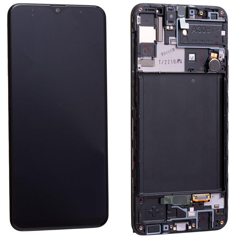 Pantalla Completa LCD Y Táctil Original para Samsung Galaxy A30s - A307F. Negro