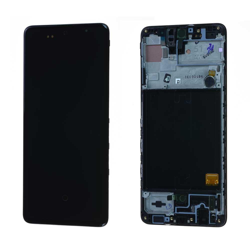 Pantalla Completa Original LCD Y Táctil para Samsung Galaxy A51 - A515F - Negro