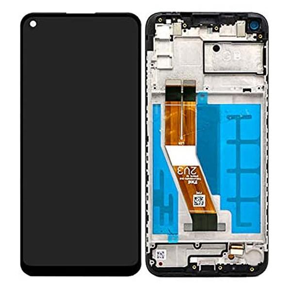 Pieza de Repuesto pantalla display con marco original para Samsung Galaxy A11 SM-A115.