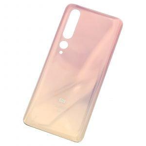 Tapa trasera para Xiaomi Mi 10 5G - Color Oro