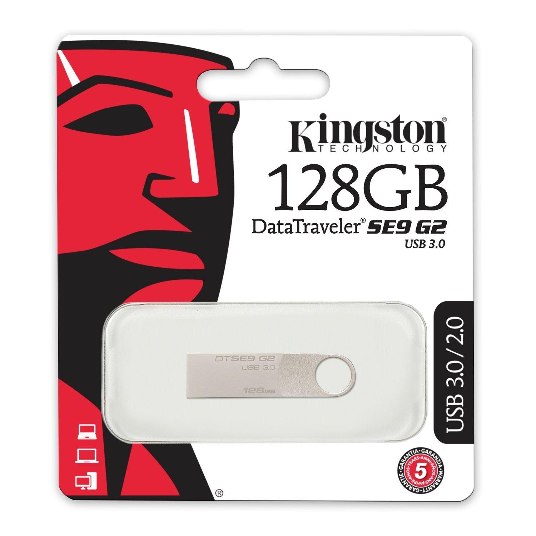 Pendrive Kingston 3.0 DataTraveler G4 128GB - 3.0 DTIG4/128GB