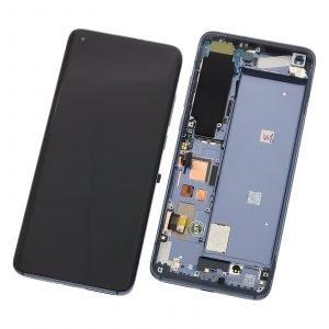 Pantalla completa con marco para Xiaomi Mi 10 5G - Gris