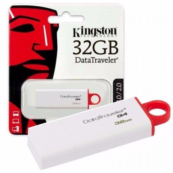 Pendrive Kingston 3.0 DataTraveler G4 32GB - 3.0 DTIG4/32GB