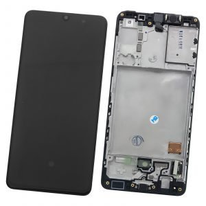 Pantalla original LCD y táctil, Samsung Galaxy A41 2020 A415F - Negro