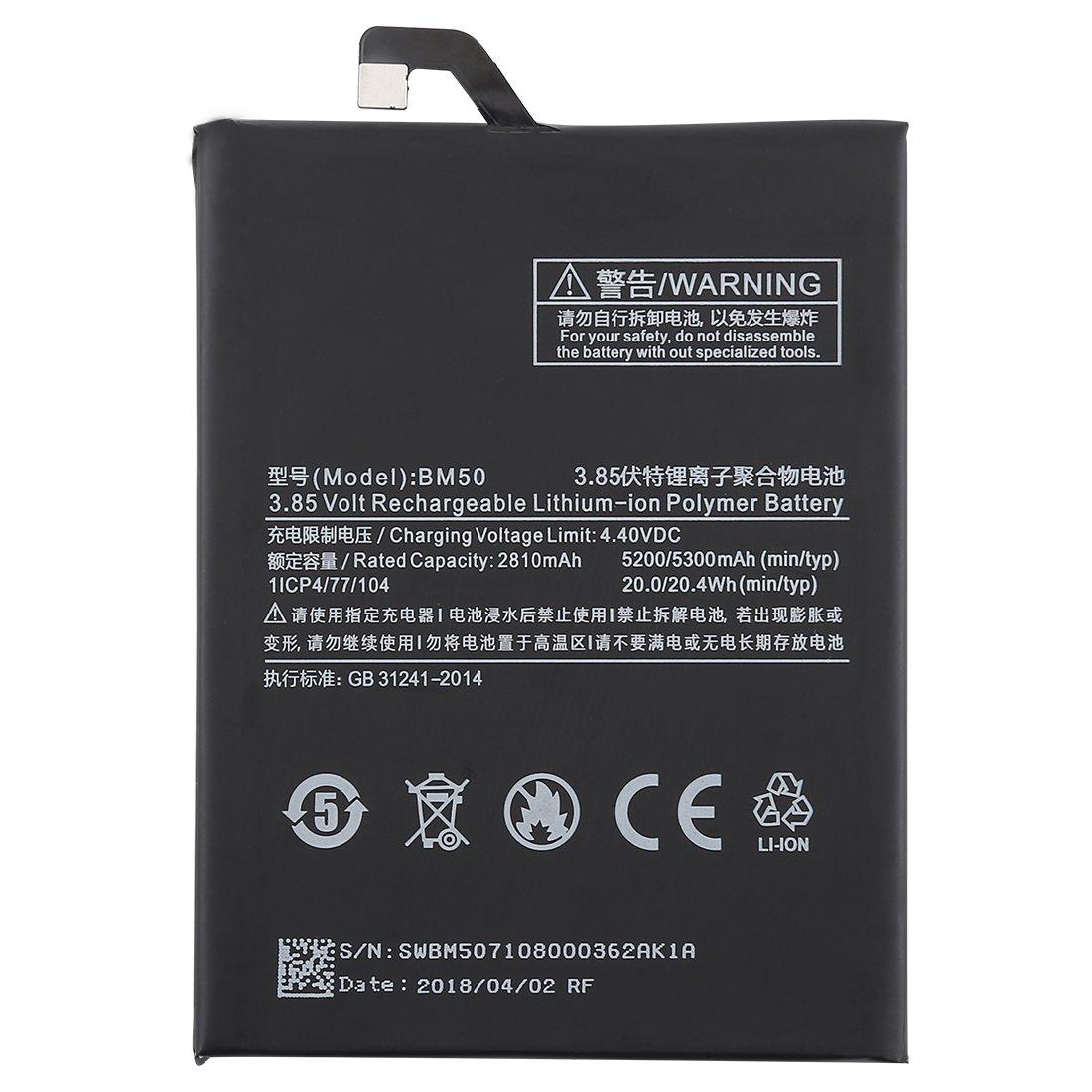 Batería BM50, Xiaomi Mi Max 2