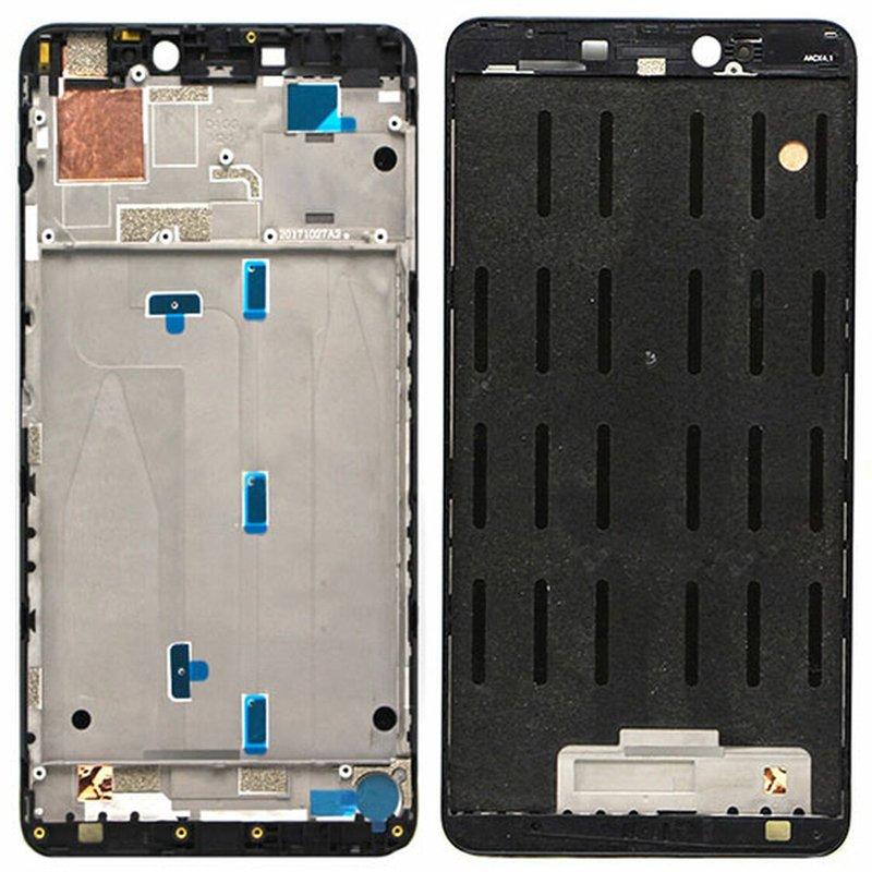 Carcasa frontal para display, Xiaomi Mi Max 2 - Negro