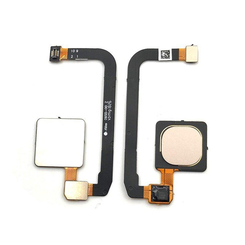 Flex con lector de huella, Xiaomi Mi Max 3 - Dorado
