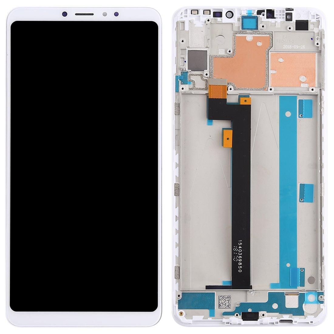 Pantalla completa con marco, Xiaomi Mi Max 3 - Blanco