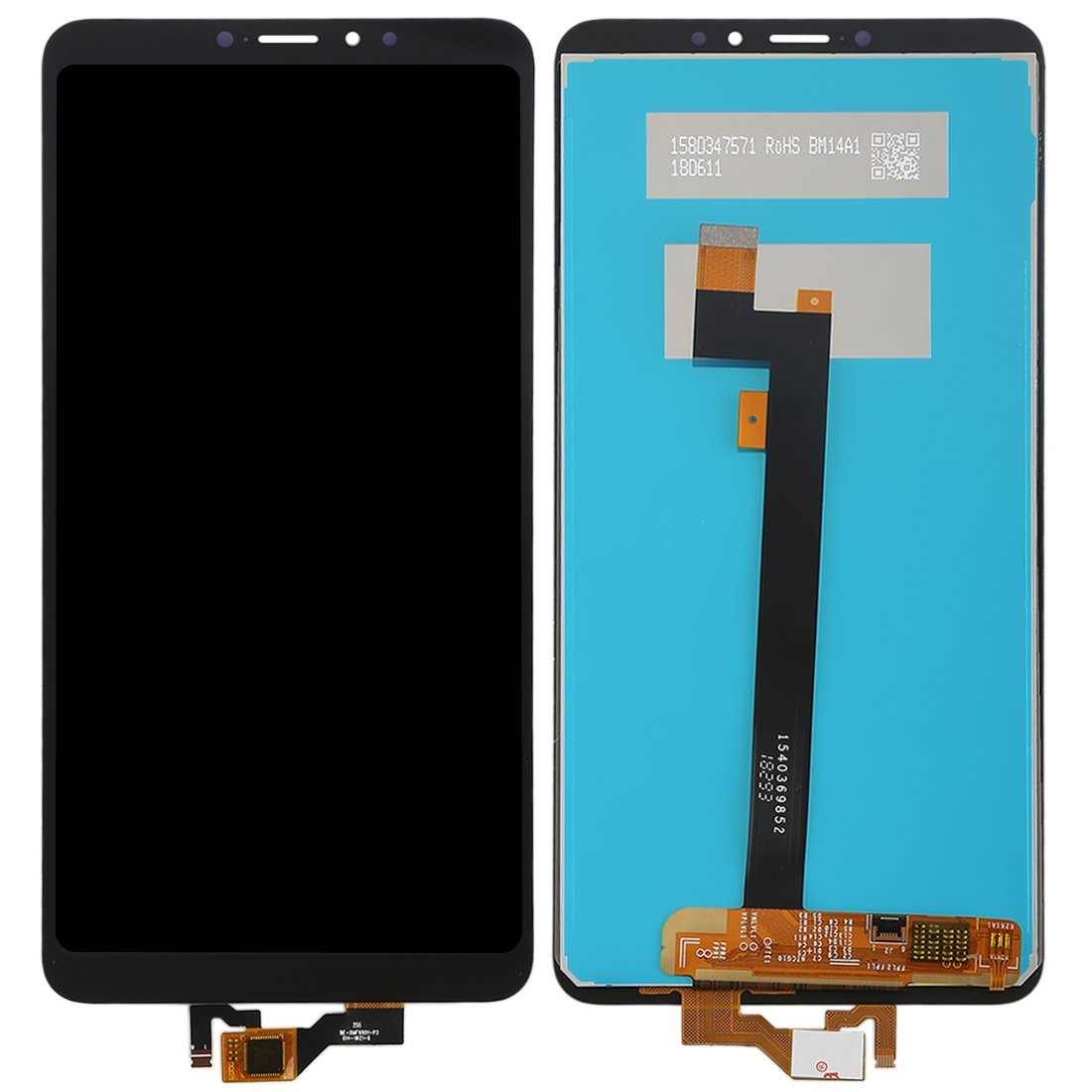 Pantalla completa sin marco, Xiaomi Mi Max 3 - Negro