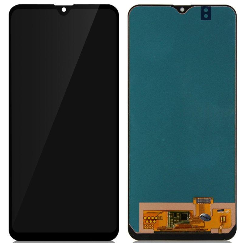 Pantalla completa sin marco, Samsung Galaxy A20 - Negro (compatible)