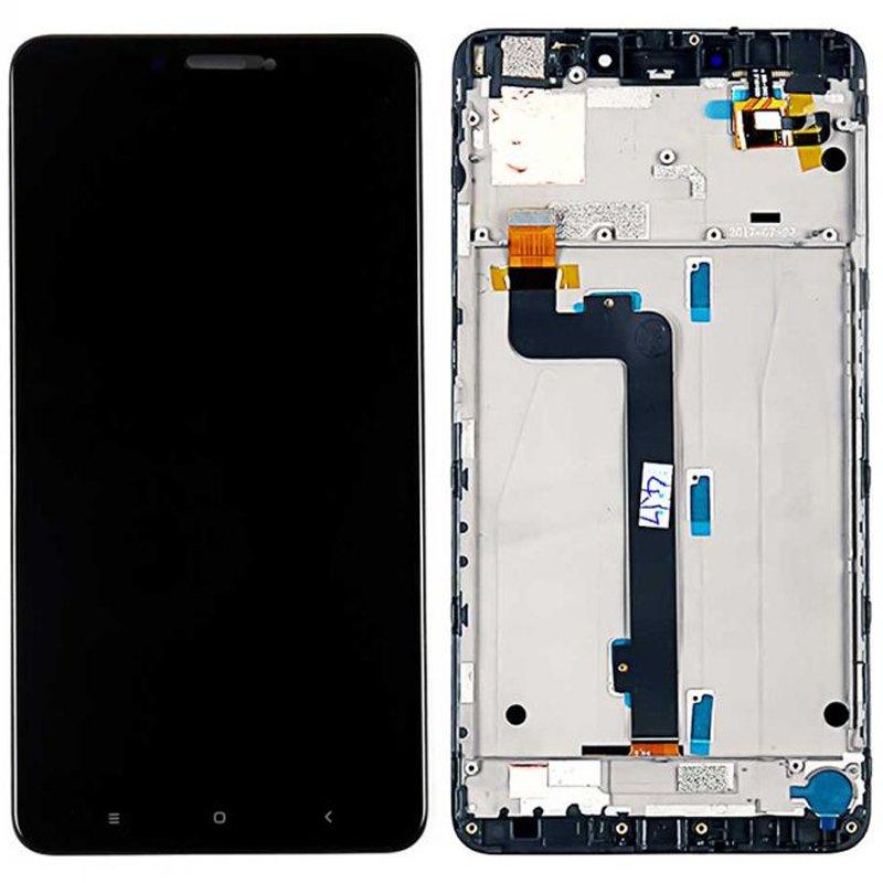 Pantalla completa con marco, Xiaomi Mi Max 2 - Negro