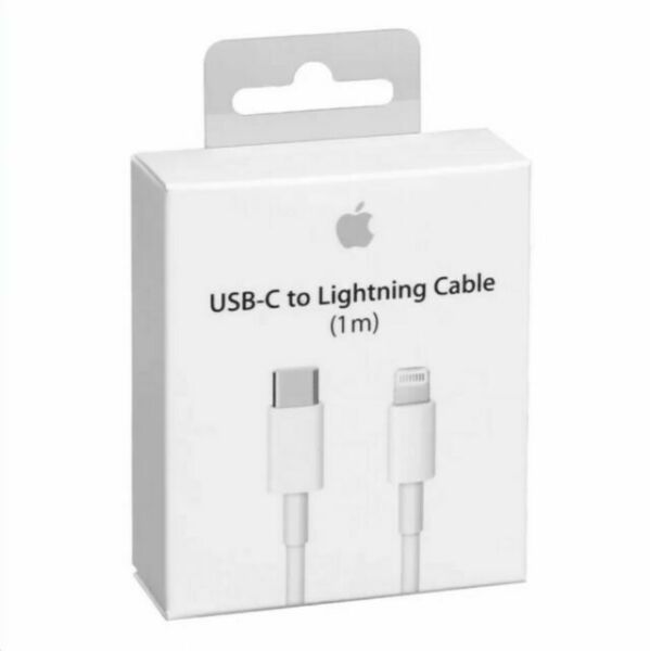 Cable De Datos Y Carga Lightning to USB Tipo-C Cable 1M Original para iPhone MQGJ2ZM/A Model A1703