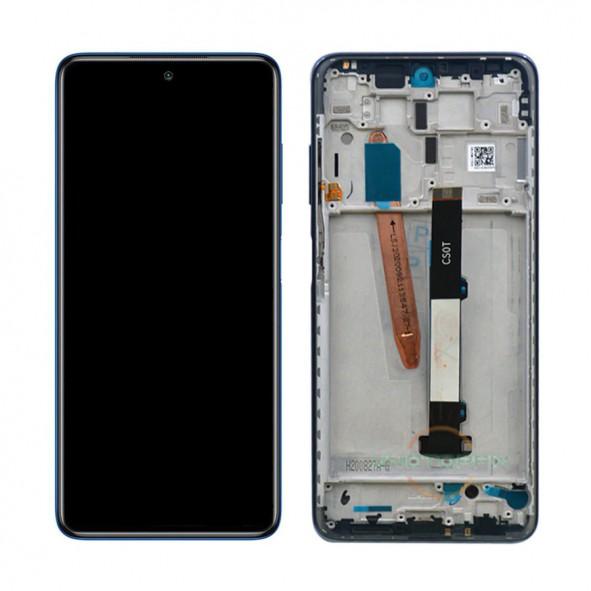Pantalla completa con marco, Xiaomi Poco X3 - Azul
