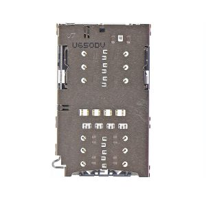 Lector de tarjeta sim y micro sd para Samsung Galaxy S7 G930F y S7 Edge G935F