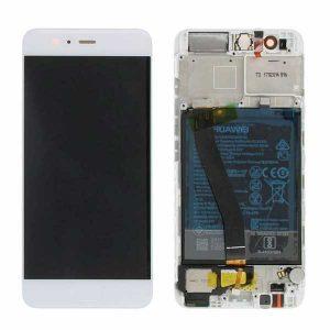Pantalla completa Original con marco para Huawei P10 - Blanco (Service Pack)