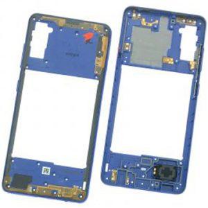 Carcasa intermedia para Samsung Galaxy A41 A415F – Azul