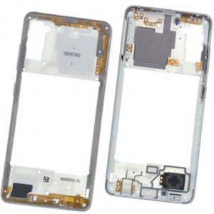 Carcasa intermedia para Samsung Galaxy A41 A415F – Blanco