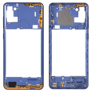 Carcasa intermedia para Samsung Galaxy A21s A217F – Azul