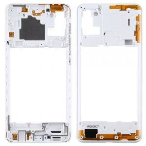 Carcasa intermedia para Samsung Galaxy A21s A217F – Blanco