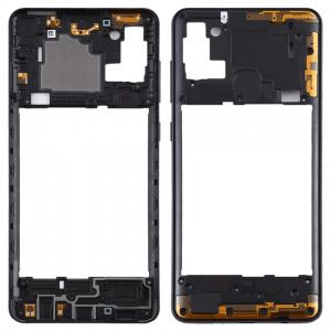 Carcasa intermedia para Samsung Galaxy A21s A217F – Negro