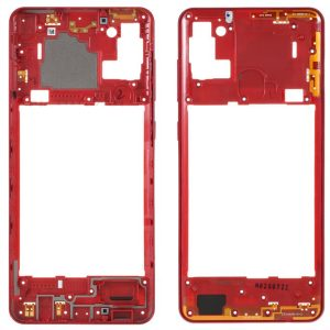 Carcasa intermedia para Samsung Galaxy A21s A217F – Rojo