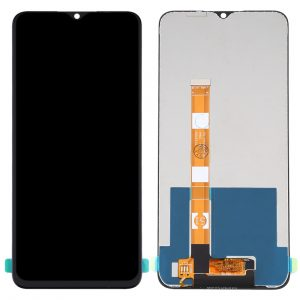 Pantalla completa sin marco para Realme C11 RMX2185 - Negro