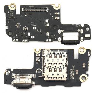 Placa con conector de carga para Xiaomi Mi 10T / Mi 10T Pro