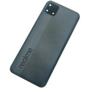 Tapa trasera para Realme C11 RMX2185 - Negro