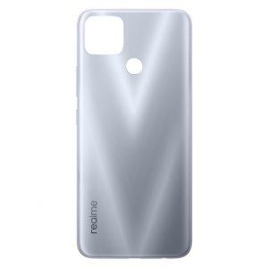 Tapa trasera para Realme 7i RMX2103 - Color Plata