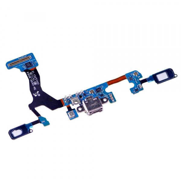 Flex De Conector De Carga Micro USB Y Micrófono para Samsung Galaxy S7 Edge G935f