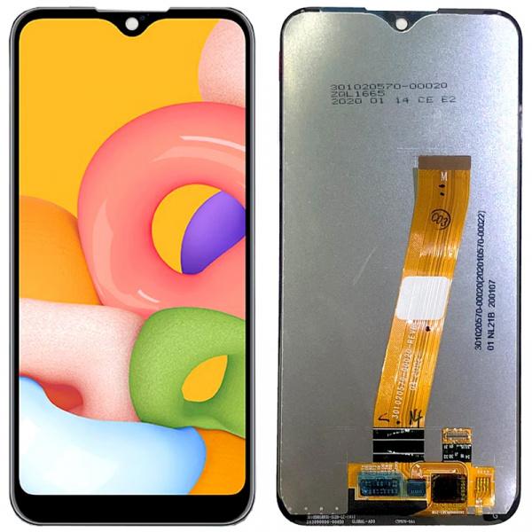 Pantalla completa sin marco Original para Samsung Galaxy A01 2020 A015F – Negro