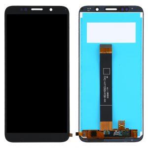Pantalla completa sin marco para Huawei Y5P / Y5 Prime 2020 - Negro