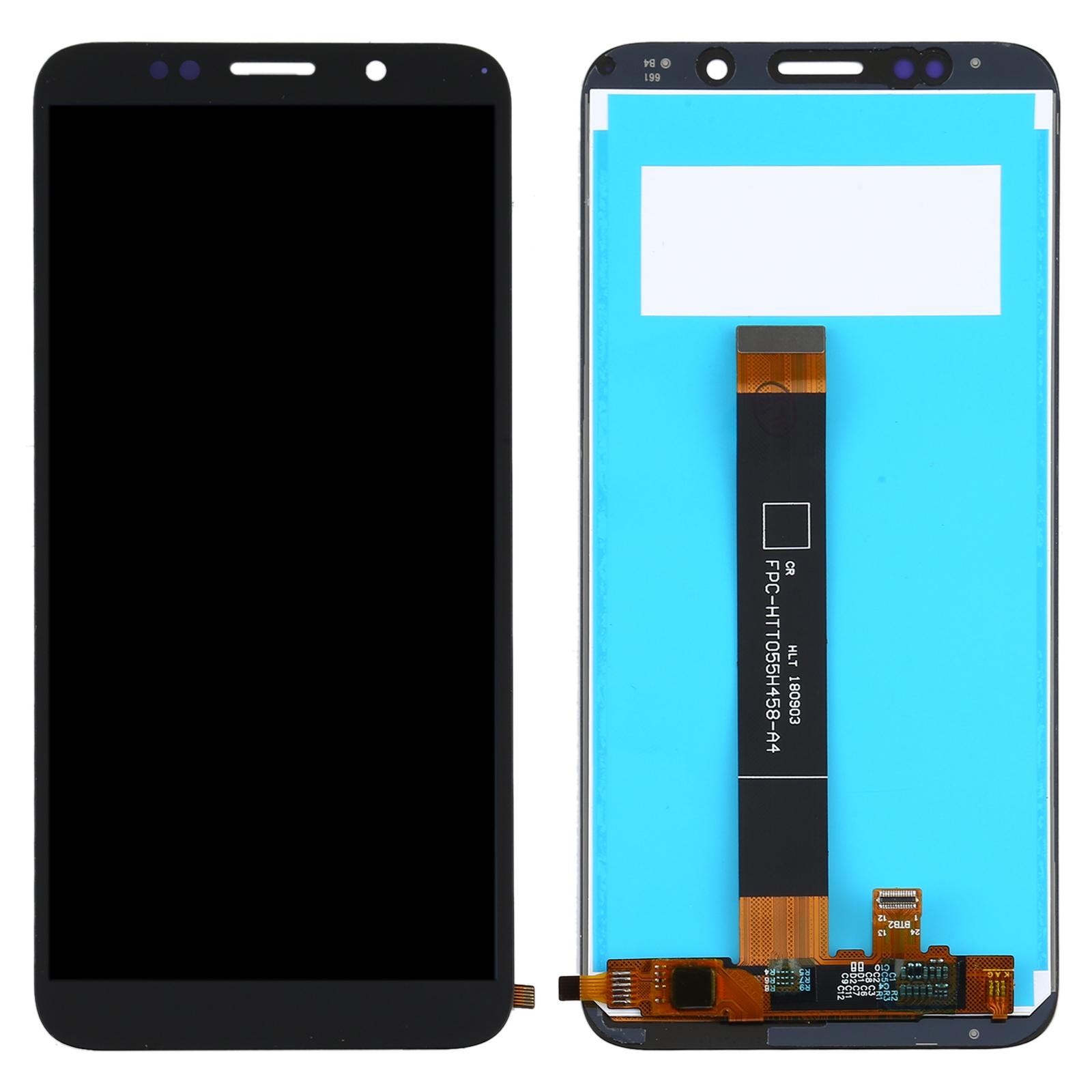 Pantalla completa sin marco para Huawei Y5P y Y5 Prime 2020 - Negro