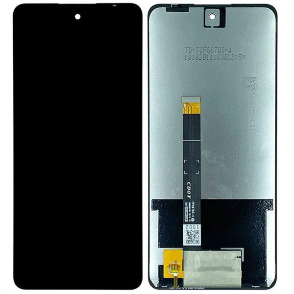 Pantalla completa sin marco para LG K92 5G - LMK920 - Negro