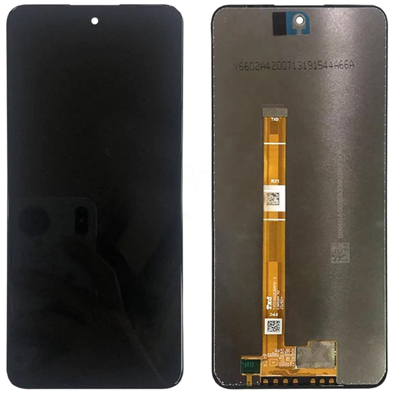 Pantalla completa sin marco para LG Q92 5G Q920N - Negro