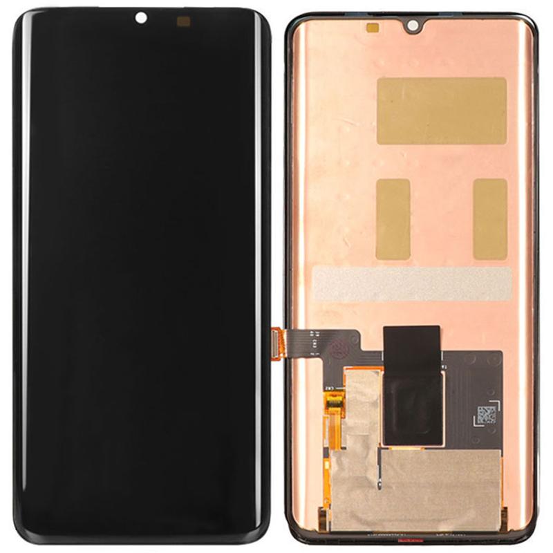 Pantalla completa sin marco para Xiaomi Mi Note 10 y Mi Note 10 pro - Negro