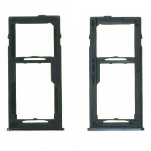 Bandeja de tarjeta SIM y Micro SD para Samsung Galaxy A42 5G (A426B) - Negro