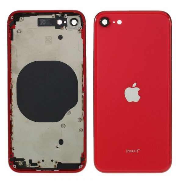 Carcasa iPhone SE Rojo