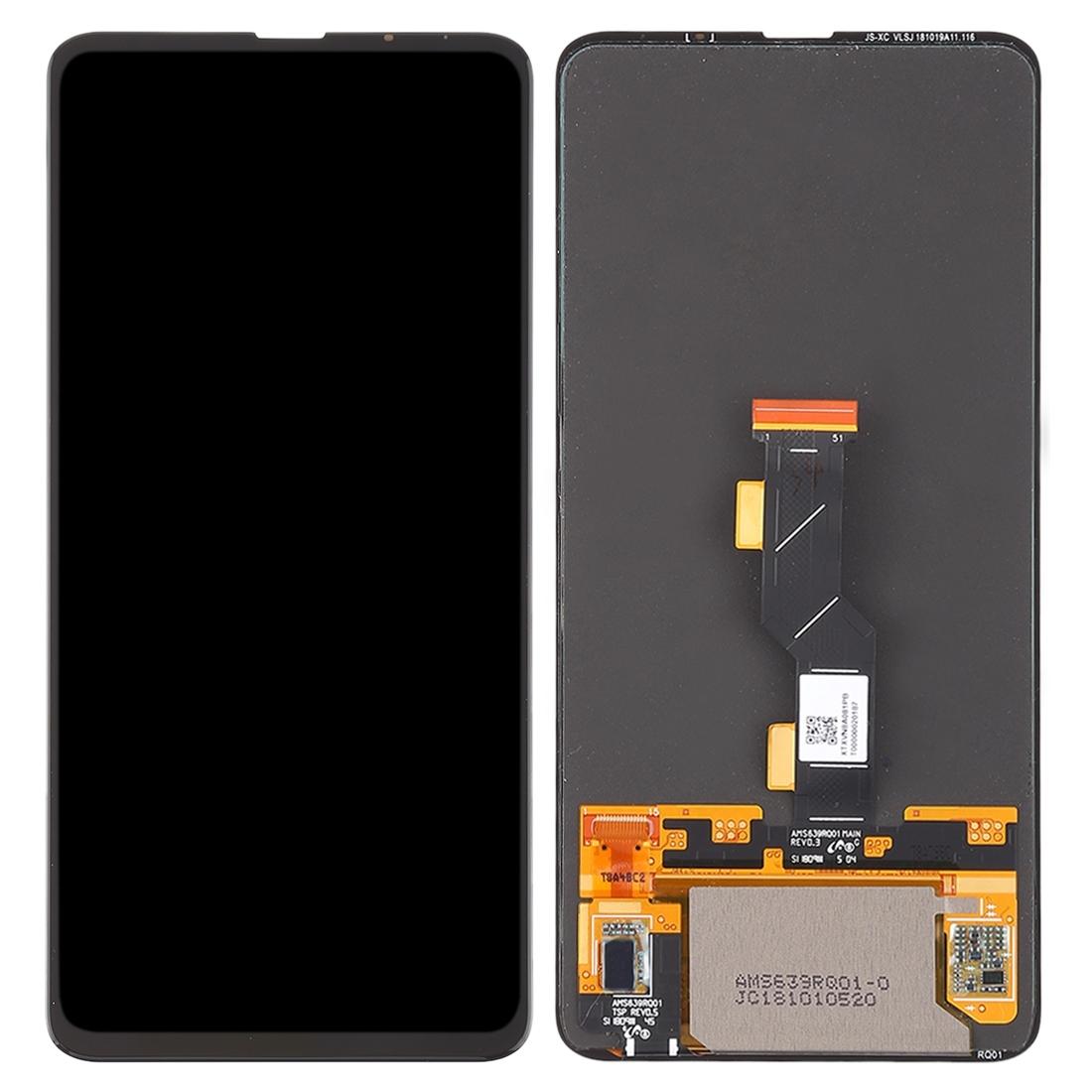 Pantalla completa sin marco para Xiaomi Mi Mix 3 - Negro