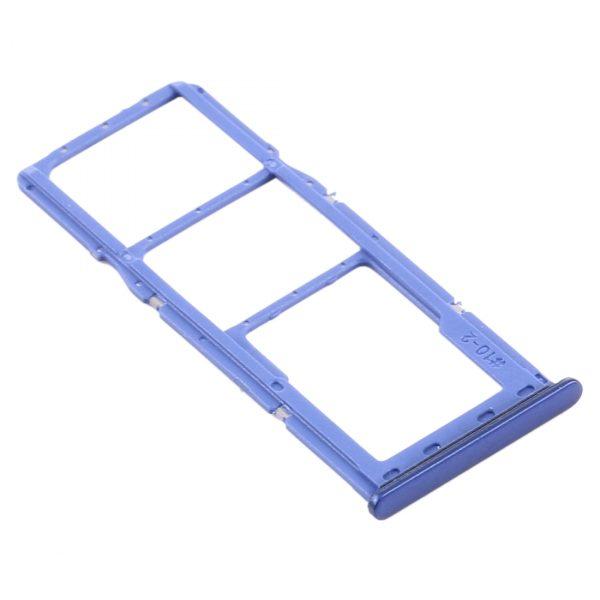 Bandeja De Tarjeta SIM Y Micro SD para Samsung Galaxy A21 2020 A215F - Azul