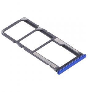 Bandeja de tarjeta SIM y Micro SD para Xiaomi Redmi Note 10 – Azul