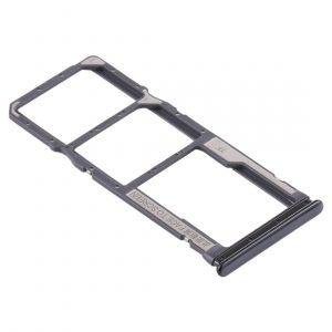 Bandeja de tarjeta SIM y Micro SD para Xiaomi Redmi Note 10 – Negro