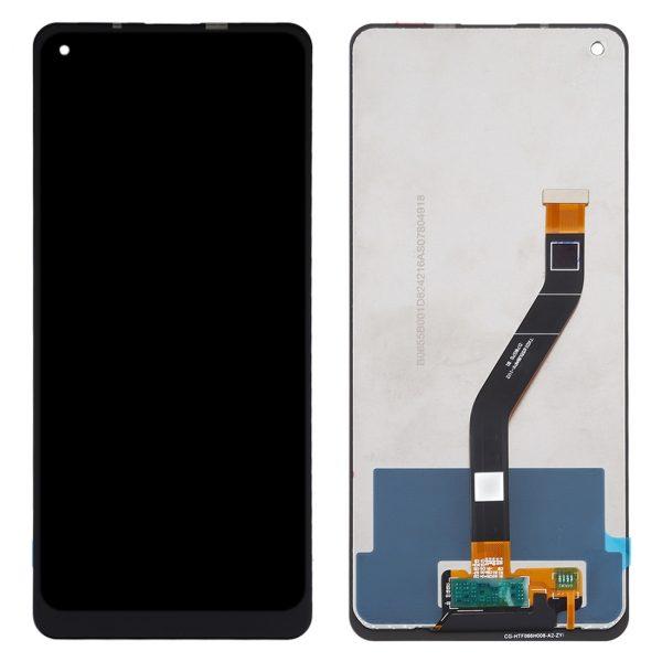 Pantalla completa sin marco Original para Samsung Galaxy A21 2020 A215F - Negro