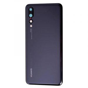 Tapa Trasera para Huawei P20 Pro – Negro con lente camara