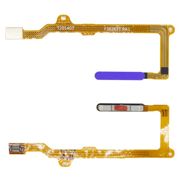 flex con lector de huellaspara móvil Huawei P40 Lite - P40 Lite 5G -Morado