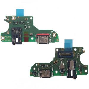 Placa con conector de carga, micrófono y jack de audio para Huawei P Smart 2021