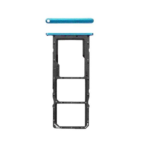 Bandeja de tarjeta SIM y SD para Huawei P Smart 2021 - Y7A 2021 - Azul