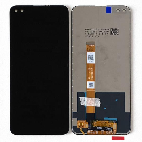 Pantalla display sin marco para Realme 6 Pro (RMX2061) - Negro