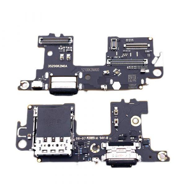Placa con conector de carga USB Tipo-C Con Lector De Tarjeta SIM