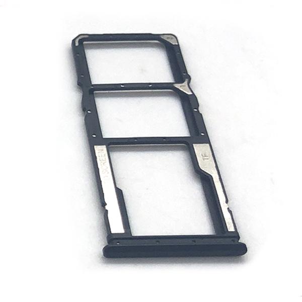 Bandeja de tarjeta SIM y micro SD para Xiaomi Poco M3 - Negro